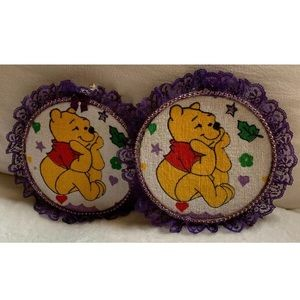 "8.5"" Winnie The Pooh Tigger Cross Stitch Decor"